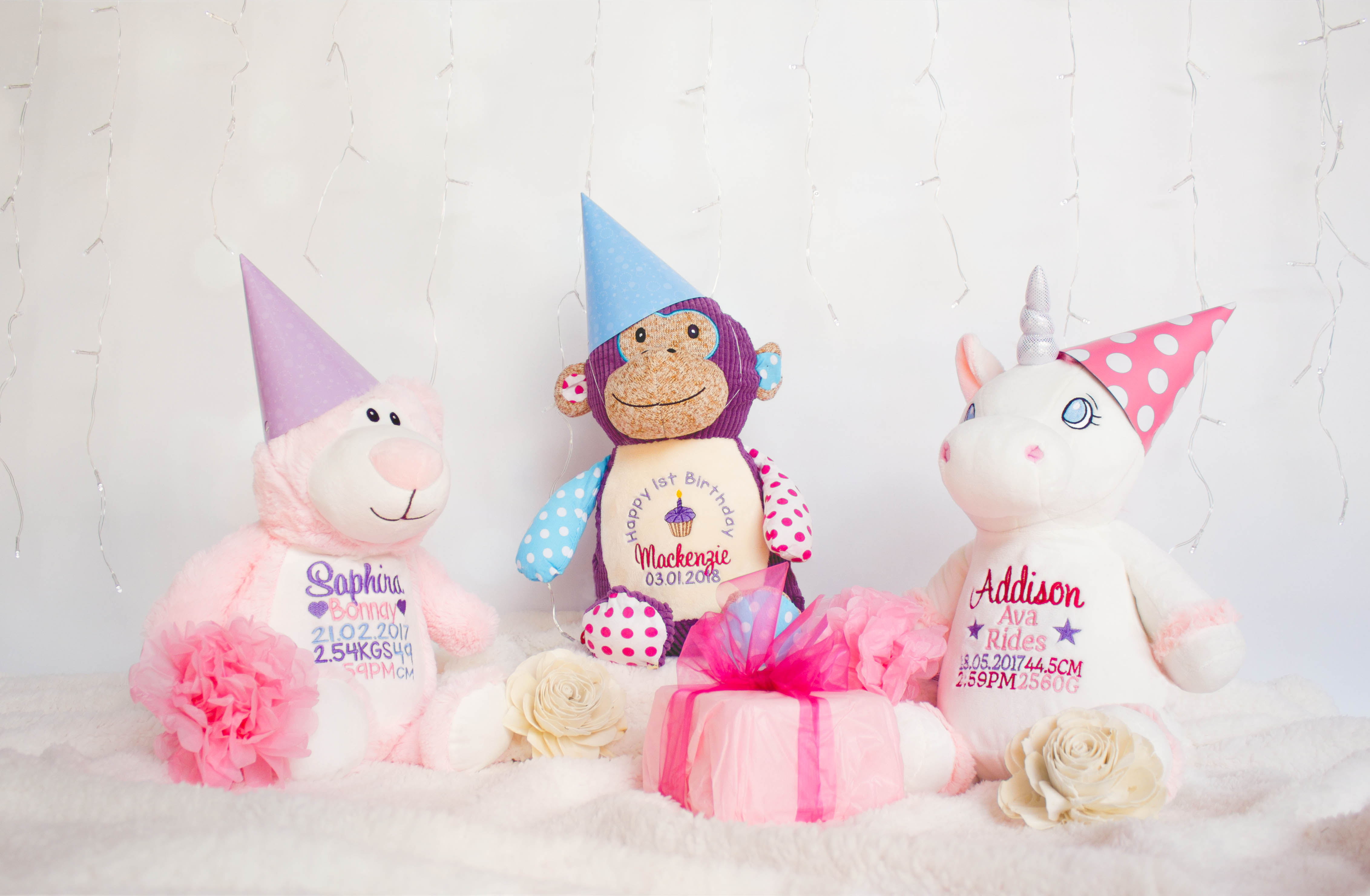 Teddy bears personalised gifts myteddy birthday gift ideas for babies and kids negle Gallery
