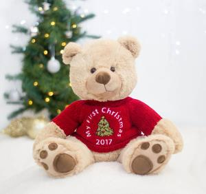 Personalised Christmas gifts Christmas bear