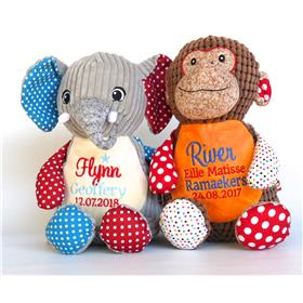 Personalised patchwork toys