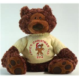 Charlie Chocolate Christmas Teddy