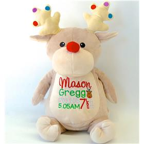 Personalised Christmas Reindeer Dancer