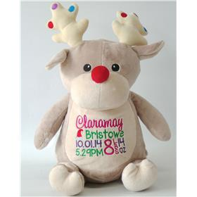 Personalised Christmas Bear Dancer Reindeer