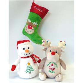 Teddys and stockings for Xmas