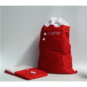 Personalised Santa Sacks and stockings