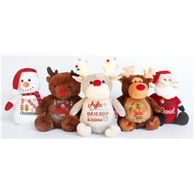 a Christmas teddy 2017