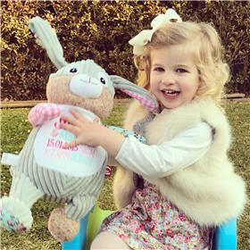 Personalised Easter Bunny for Isabelle