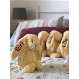 Easter gift ideas, Jellycat bunnies in Lemon