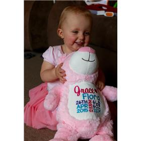first birthday teddy for Grace
