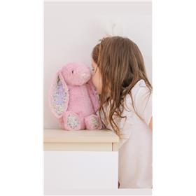 Maia and her Personalised Jellycat bunny