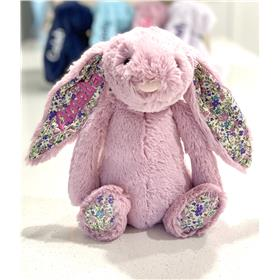 Personalised Jellycat Bunny Tulip Blossom with Candy Embroidery
