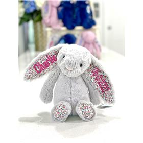 Silver blossom jellycat bunny