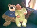Birth day teddy for Jett