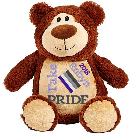 This+is+an+image+of+a+Brown+Teddy+Pride+Month+from+My+Teddy