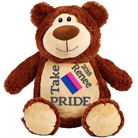This+is+an+image+of+a+Brown+Teddy+Pride+March+from+My+Teddy