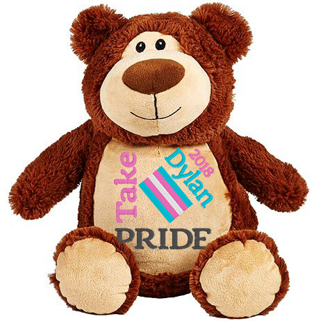 This+is+an+image+of+a+Brown+Teddy+Transgender+Flag+from+My+Teddy