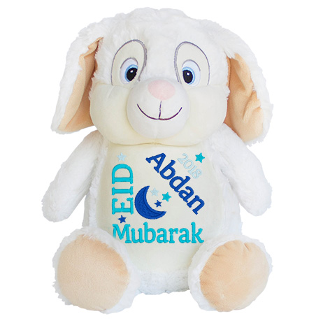 This+is+an+image+of+a+White+Bunny+Eid+Gift+Idea+from+My+Teddy