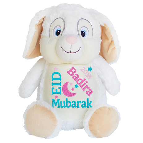 This+is+an+image+of+a+White+Bunny+Eid+For+Kids+from+My+Teddy