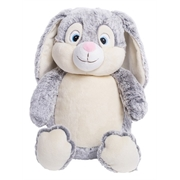 Personalised+bunny+teddy+bear%2c+embroidered+and+customised