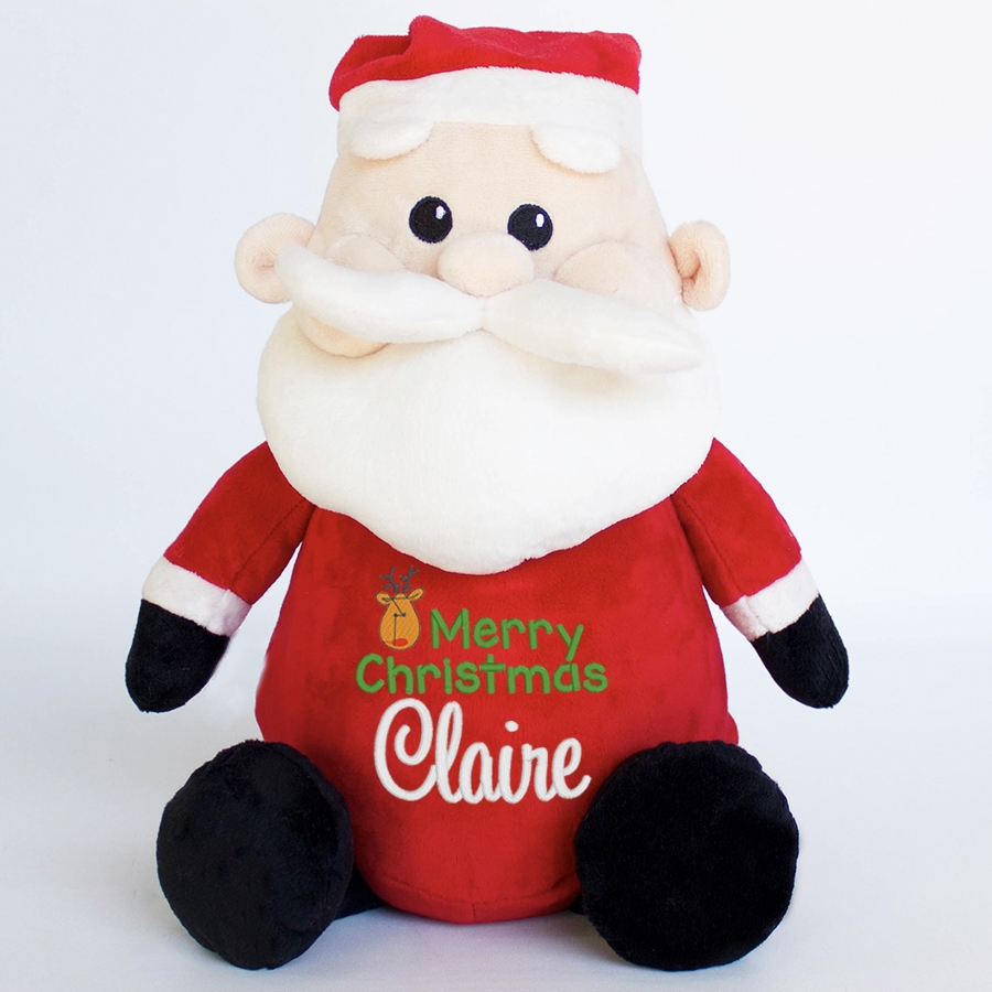 Personalised+Santa+Teddy+Bear+from+My+Teddy