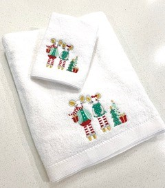 Personalised+Christmas+Mouse+Towel