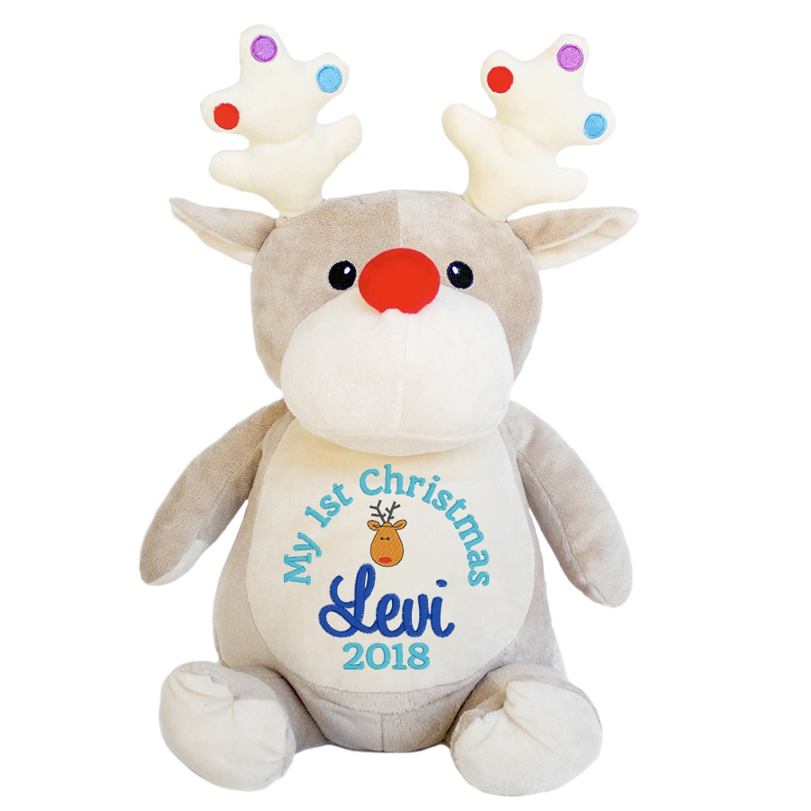 This+is+an+image+of+a+Dancer+Reindeer+Baby+Christmas+Gift+from+My+Teddy