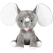 Personalised+elephant+dumble+grey+from+My+Teddy