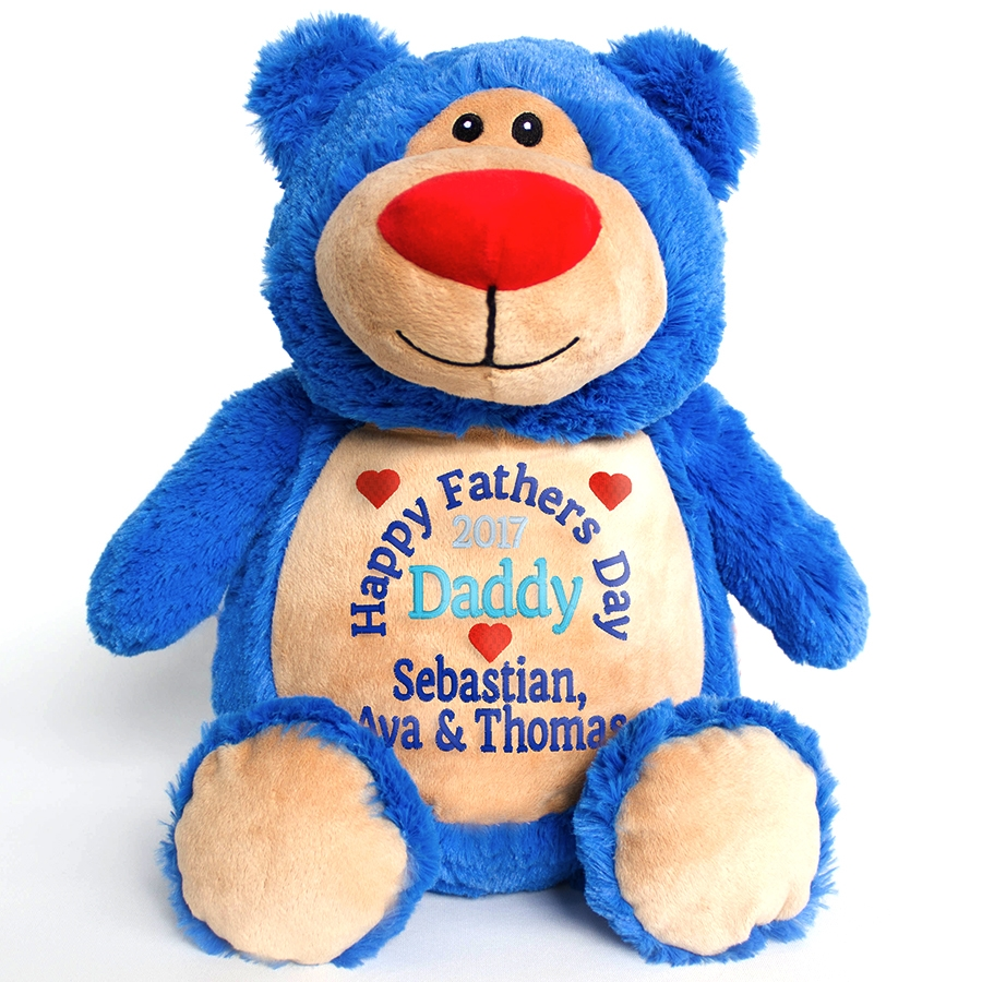 This+is+an+image+of+a+Blue+Teddy+Fathers+Day+Gift+from+My+Teddy