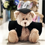 Personalised+Graduation+Bear+-+Frankie+Champagne