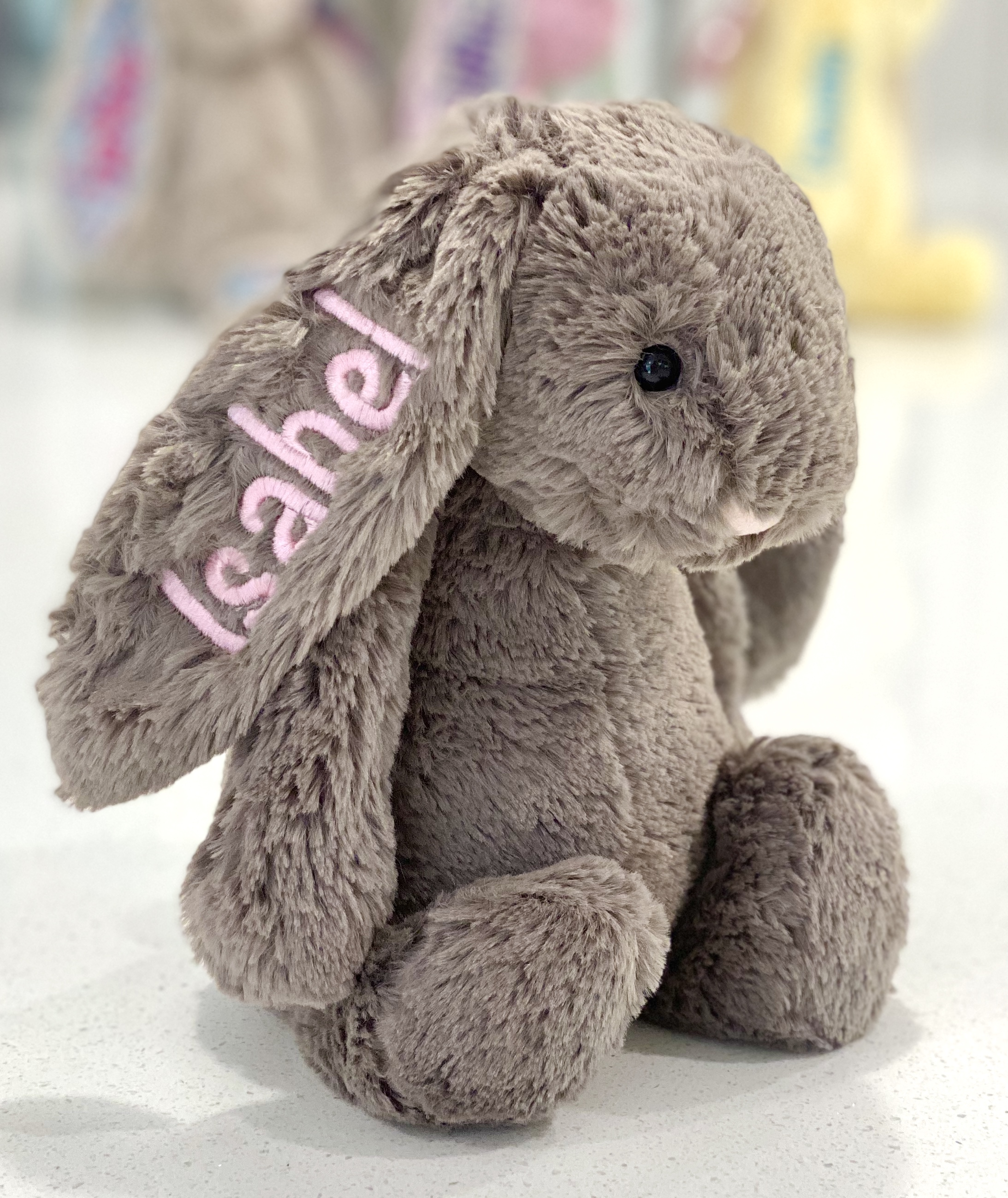 Personalised+Truffle+Jellycats+Bunny