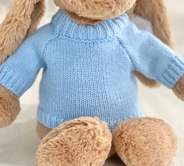 Blue+Jumper+for+Jellycat+bunny