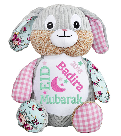 This+is+an+image+of+a+Pink+Patchwork+Pink+eid+al+fitr+from+My+Teddy
