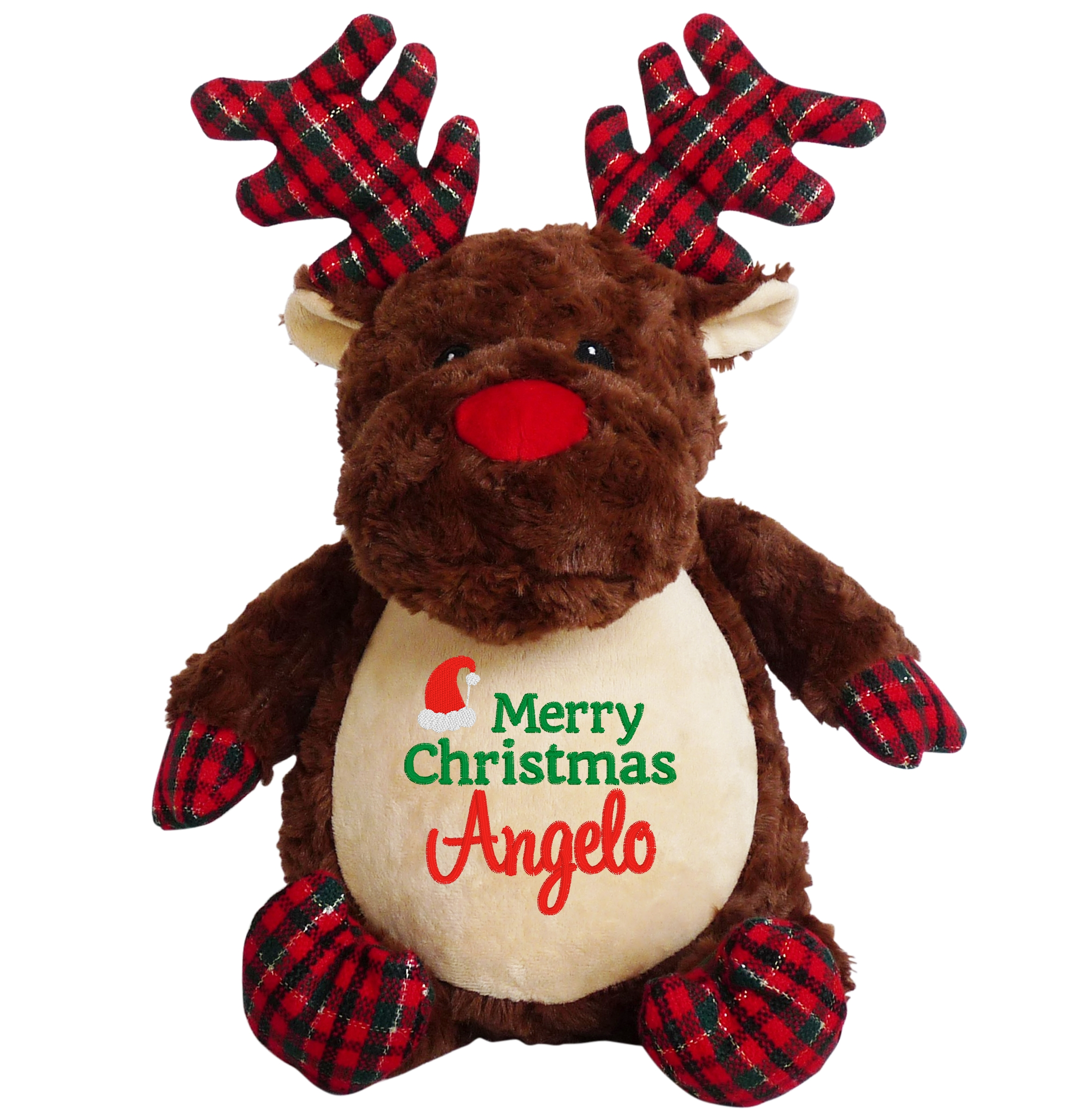 This+is+an+image+of+a+Prancer+Teddy+Merry+Christmas+Gift+from+My+Teddy