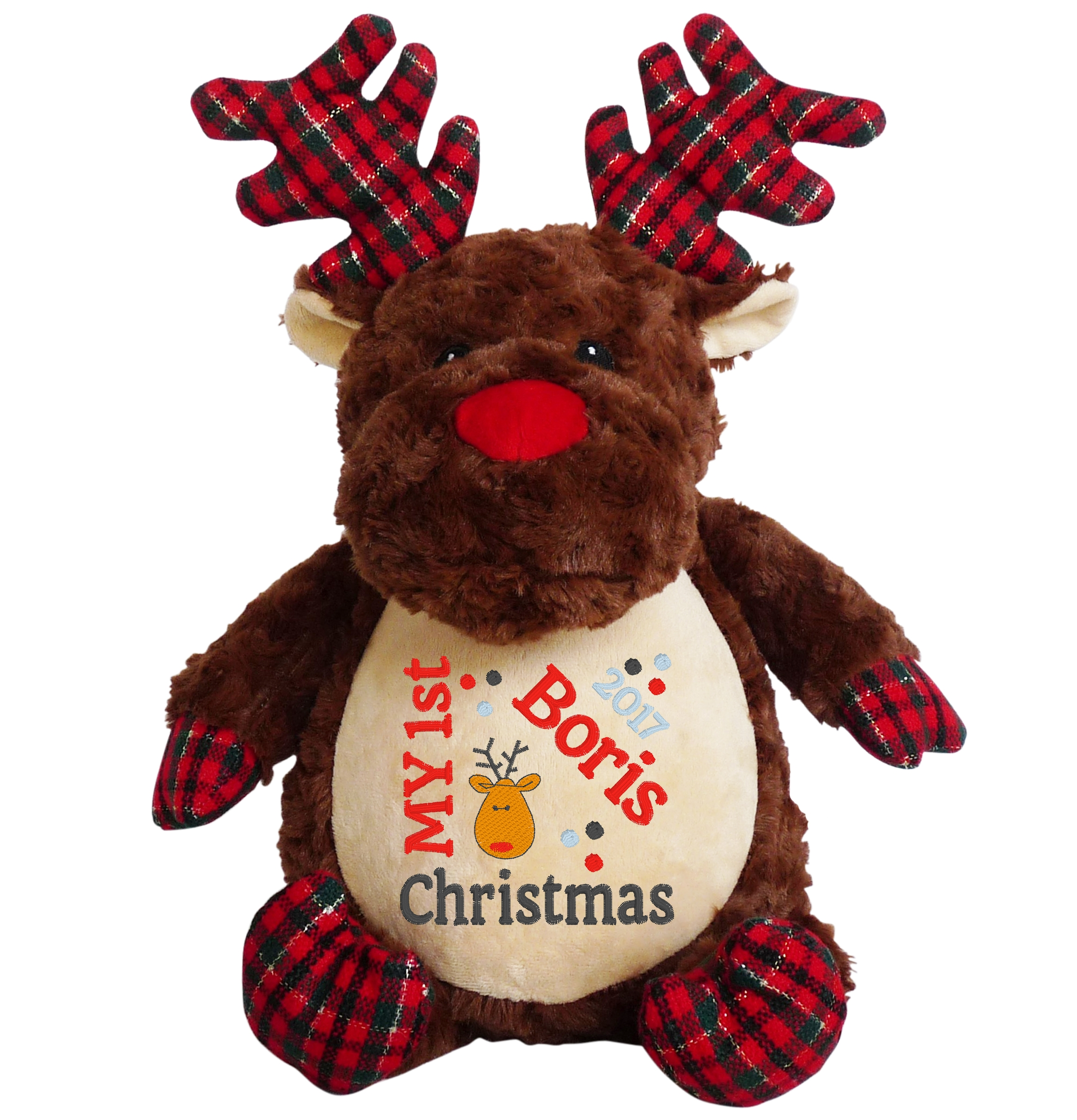 This+is+an+image+of+a+Prancer+Reindeer+1st+Christmas+Gift+from+My+Teddy