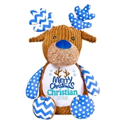 This+is+an+image+of+a+Blue+Reindeer+Baby+Christmas+Idea+from+My+Teddy