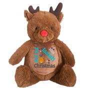 This+is+an+image+of+a+Rudolf+Teddy+Personalised+Christmas+Gift+from+My+Teddy