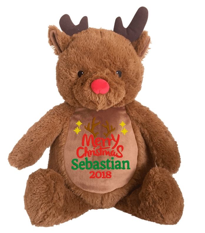 This+is+an+image+of+a+Rudolf+Reindeer+Christmas+Gift+for+Baby+from+My+Teddy
