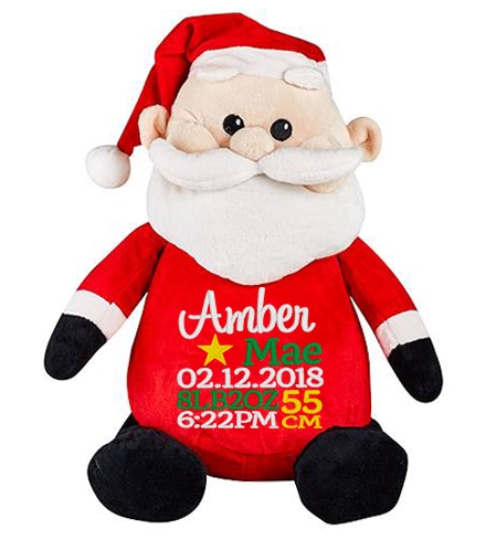 This+is+an+image+of+a+Santa+Personalised+Baby+Gift+from+My+Teddy