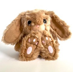 Snuggle+Bunny+Brown+Personalised+Easter+Gift+Idea