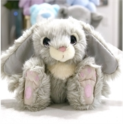 Snuggle+Bunny+Grey%2c+Personalised+