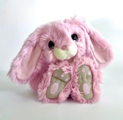 Personalised+snuggle+bunny+rabbit+Pink