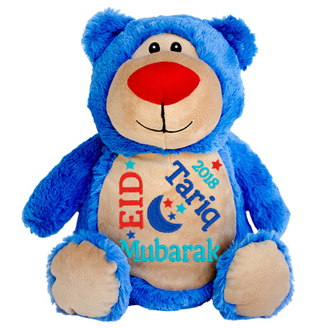 This+is+an+image+of+a+Teddy+Bright+Blue+Eid+Present+from+My+Teddy