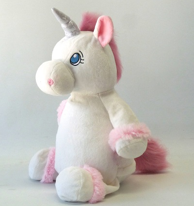 unicorn white large from my teddy. Black Bedroom Furniture Sets. Home Design Ideas
